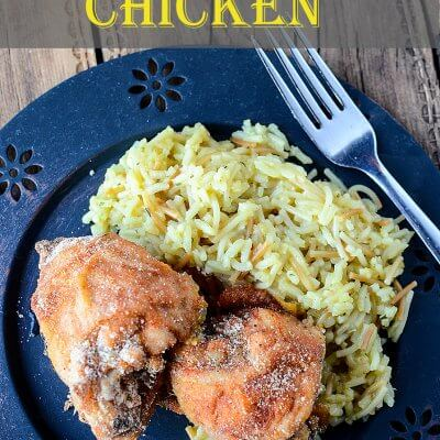 Breaded and Baked Chicken 1