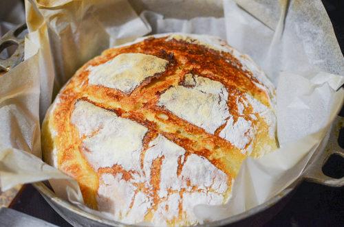 No Knead 5 hour bread 5