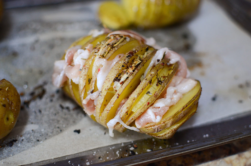 Smoky Bacon with Creamy Hasselback Potatoes06