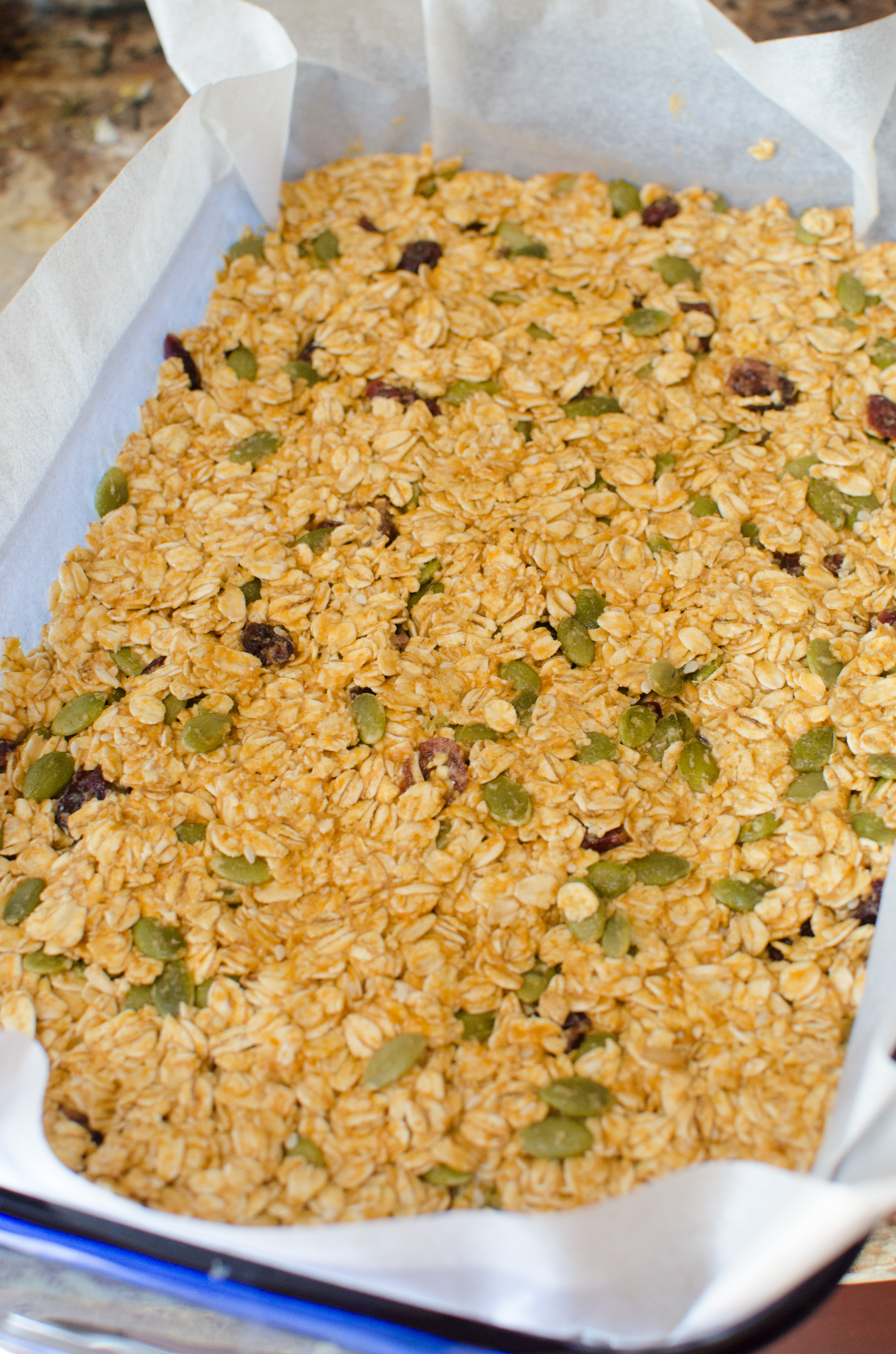 FALL PUMPKIN GRANOLA BARS