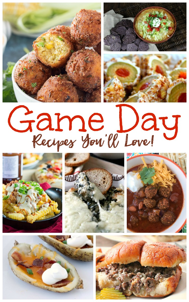 game-day-recipes