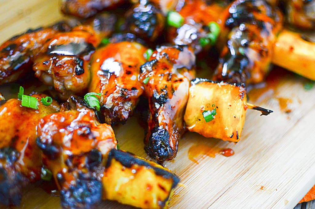 Here's a different take on traditional kabobs. Fabulous recipes for Sweet and Spicy Grilled Wings on Skewers. They'll have be the talk of any BBQ.