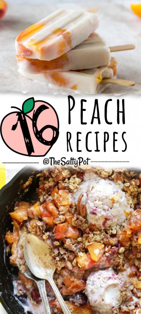 Luscious Ripe Peach Recipes