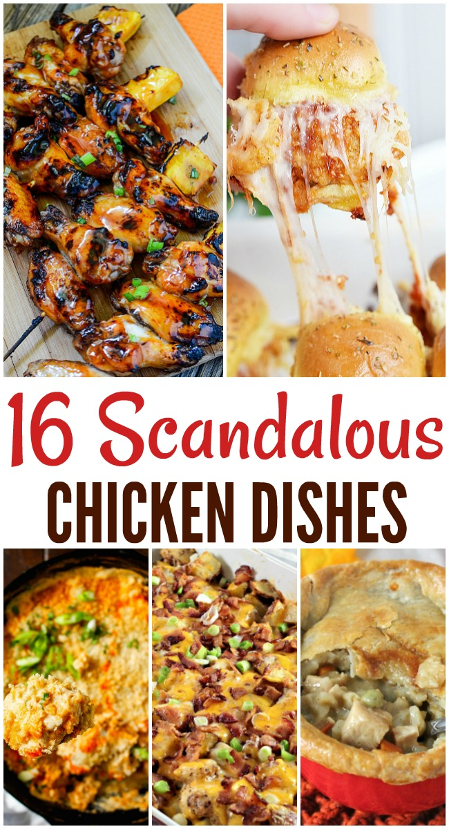 16 cheesy chicken recipes that will knock your socks off. Yummy cheesy chicken flavors that say I'm the picture of comfort food!