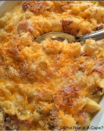 easy mac & cheese