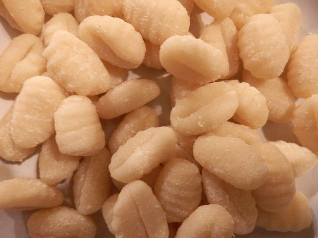 Picture of plain gnocchi