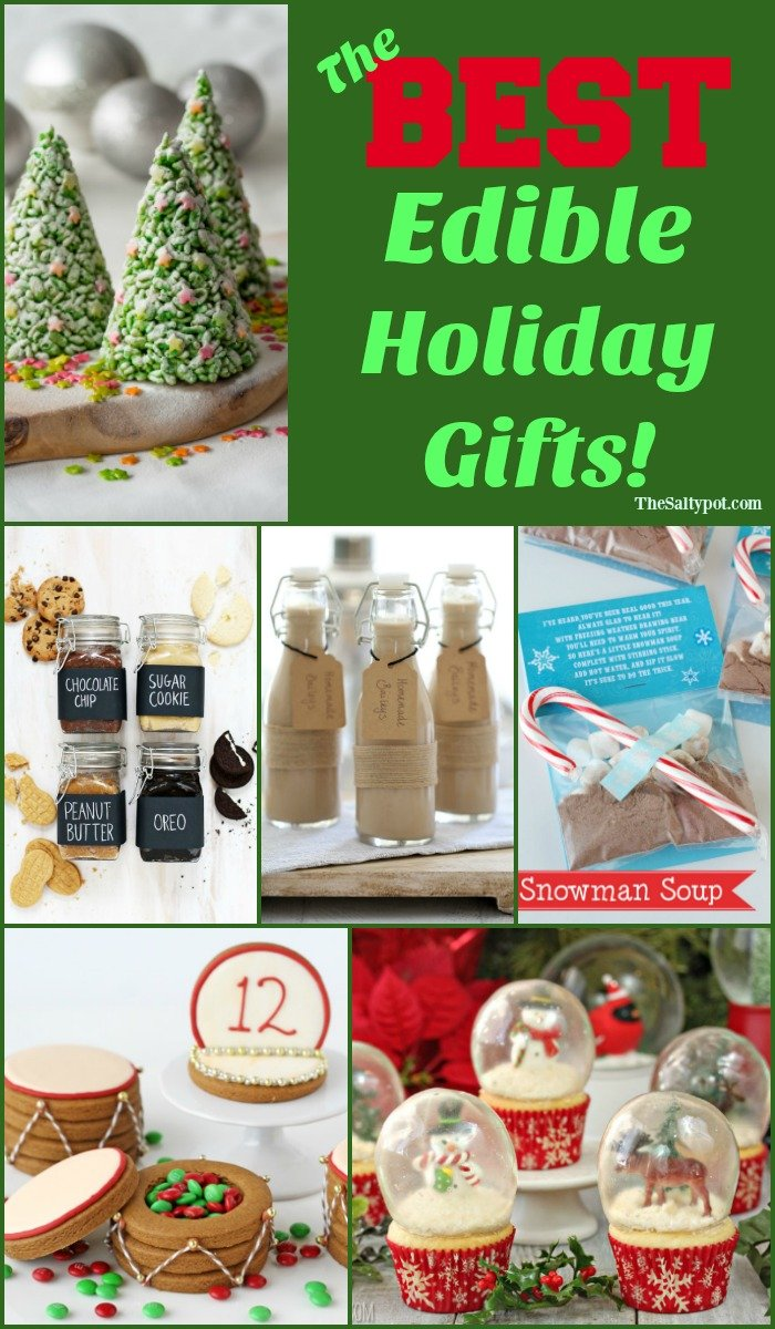 the best DIY edible gifts for Christmas! | The Salty Pot