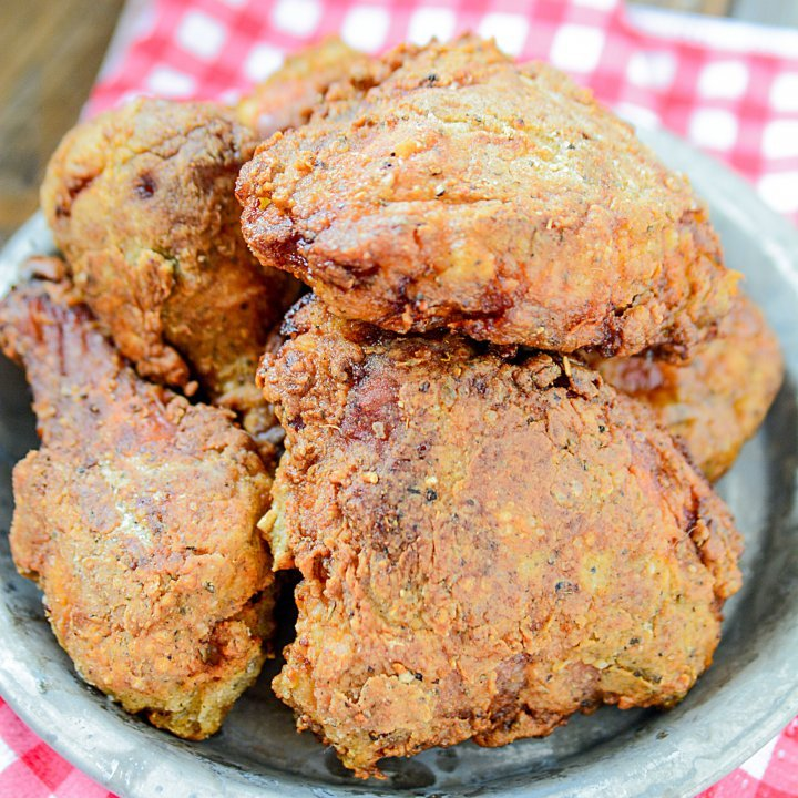 Pickle Brined Fried Chicken Recipe