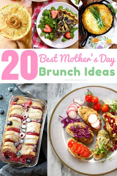 20 best mother's day brunch ideas!