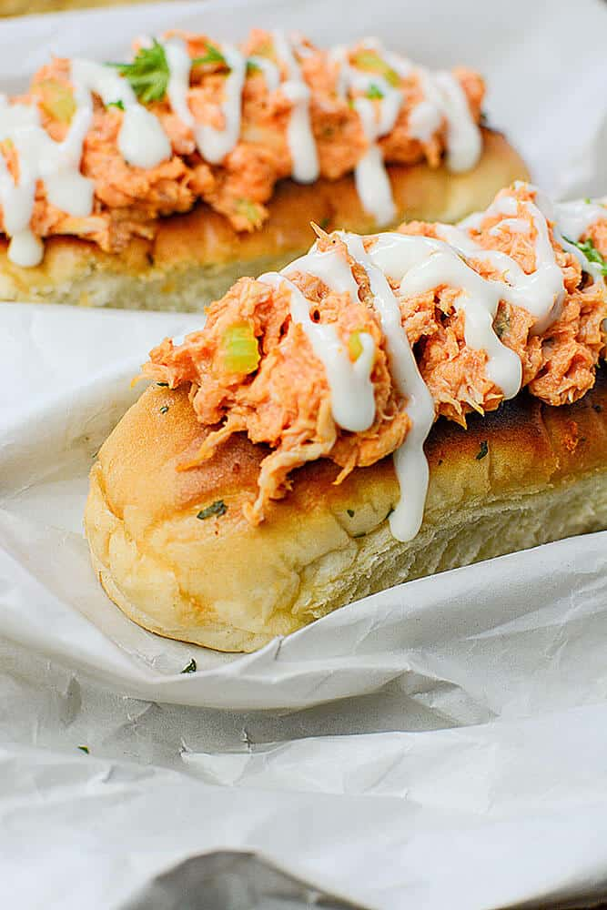 Buffalo Chicken Boats