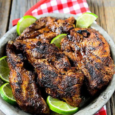 This dish with it's smoky chili flavors, tartness from the lime and tender juicy grilled meat make these chili lime ribs the BEST grilled ribs ever!!
