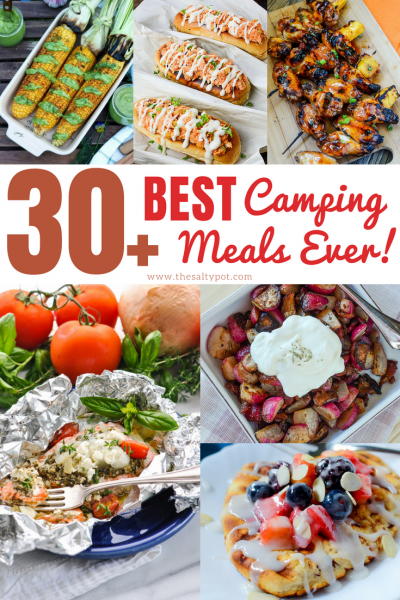 30 easy and best camping meals ever!