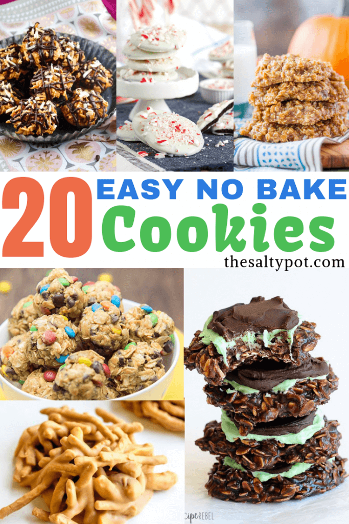 Super easy no bake cookies! Save yourself time but don't sacrifice flavor with these no bake cookie ideas!