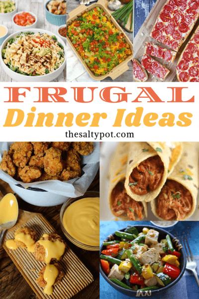 20+ frugal dinner ideas