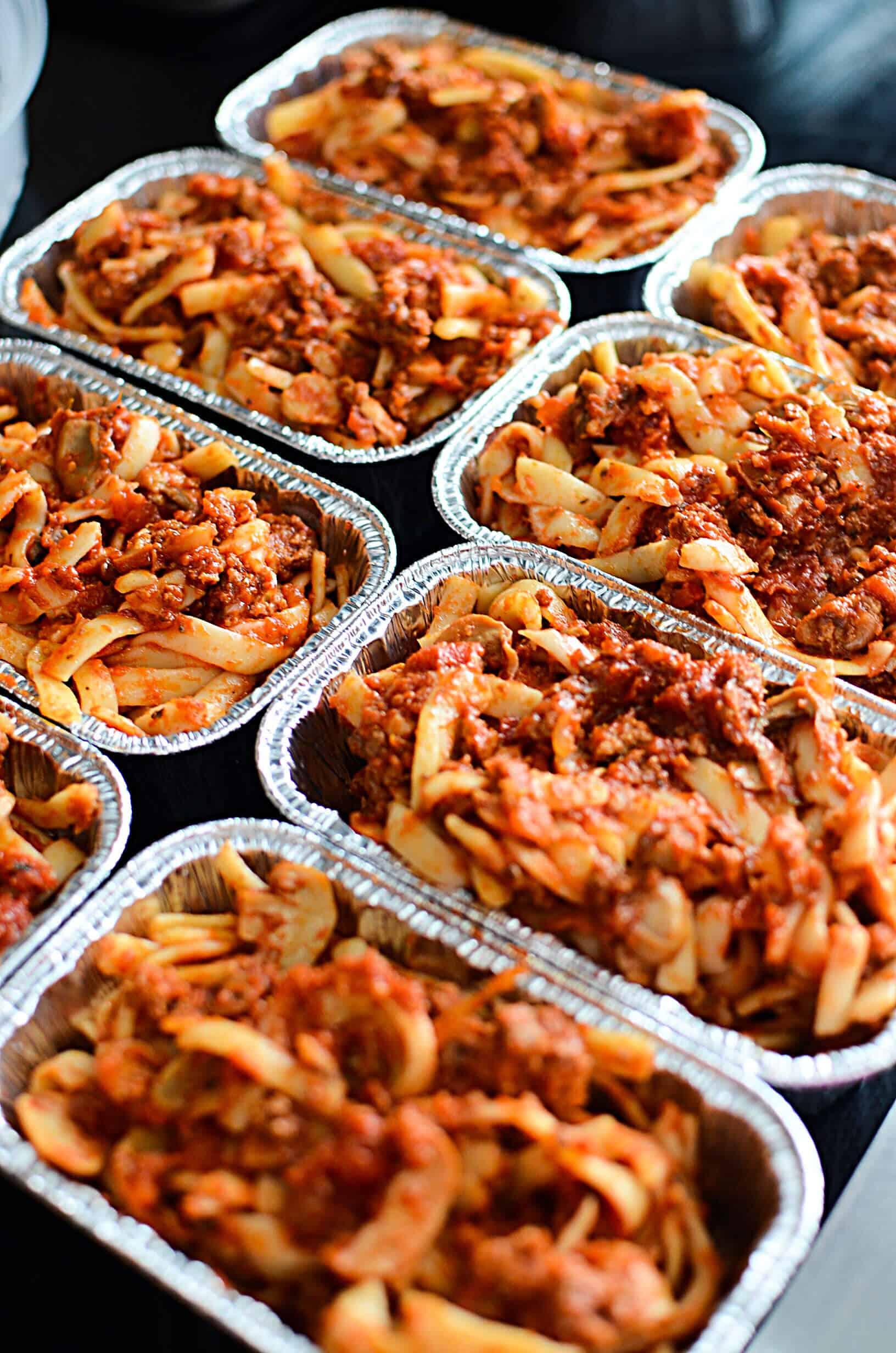 Make Ahead Meals Individually Baked