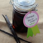 Homemade vanilla extract will save you money, make your baking and desserts taste so much better than using store bought extracts, and is fun to make! Vanilla extract made at home makes excellent gifts as well!