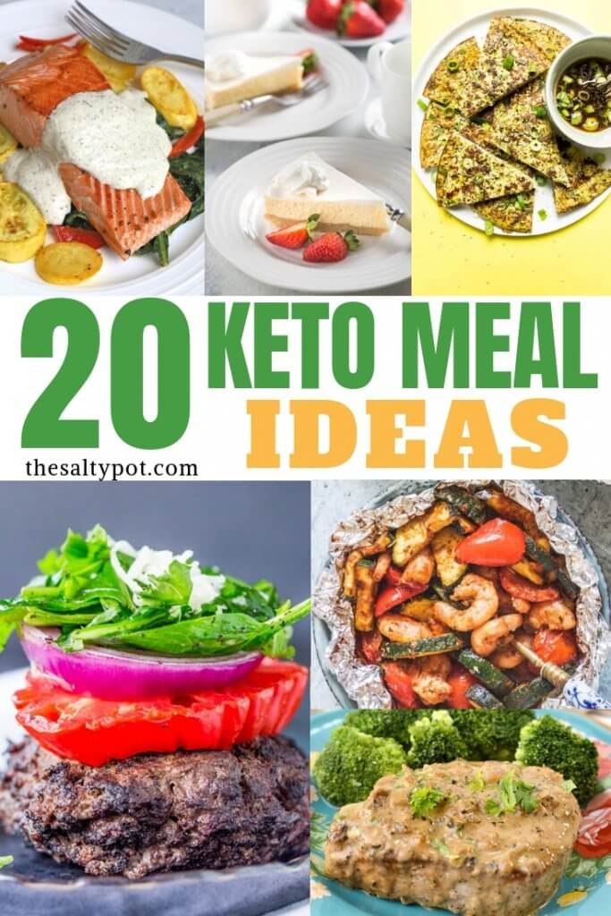 When you're into a strict keto meal diet (but even if you're not), you'll definitely love these amazing keto meals that are low-carb and absolutely delicious! We have everything you are looking for - from breakfast, lunch, dinner, to desserts! Everything keto! Enjoy! - The Salty Pot