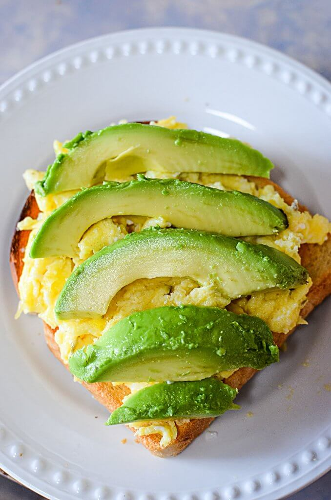This recipe for simple avocado toast is easy, quick and super delicious! This is the best avocado toast for when you want to eat healthy but still have a quick morning breakfast!