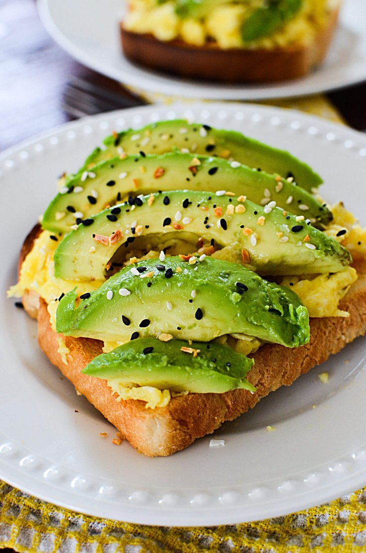 A RECIPE FOR SIMPLE AVOCADO TOAST
