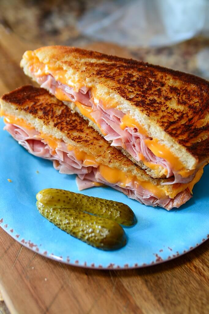 Make your ham and cheese sandwich as simple or as advanced as your heart desires! Here's a great recipe and some great tips!