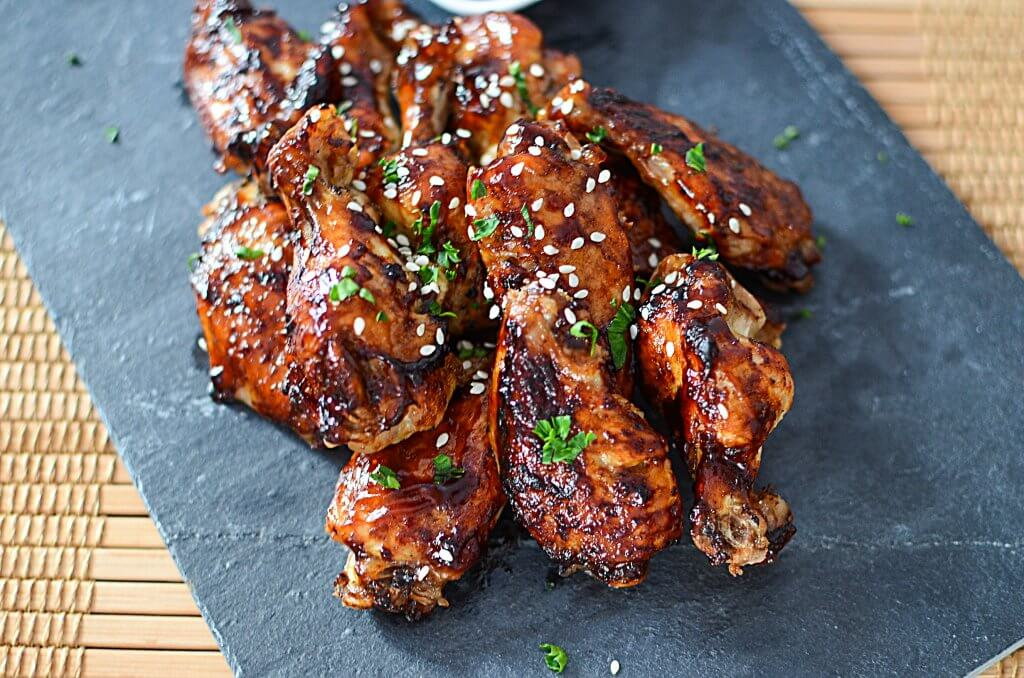 These Ninja Foodi Teriyaki Chicken Wings have slightly sweet, slightly salty flavors with a hint of ginger that makes up teriyaki sauce! - The Salty Pot