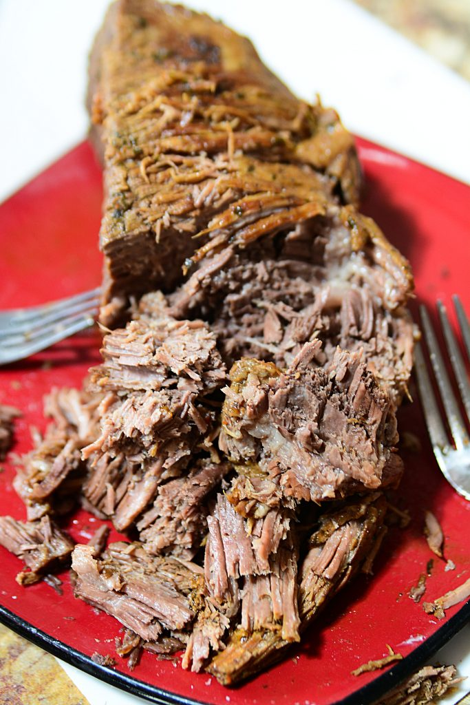 Instant pot 3 packet roast. shredding this beef roast is a dream when done in the Instant Pot