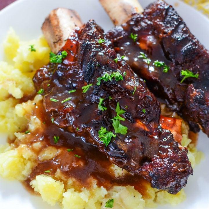 NINJA FOODI BBQ BEEF SHORT RIBS