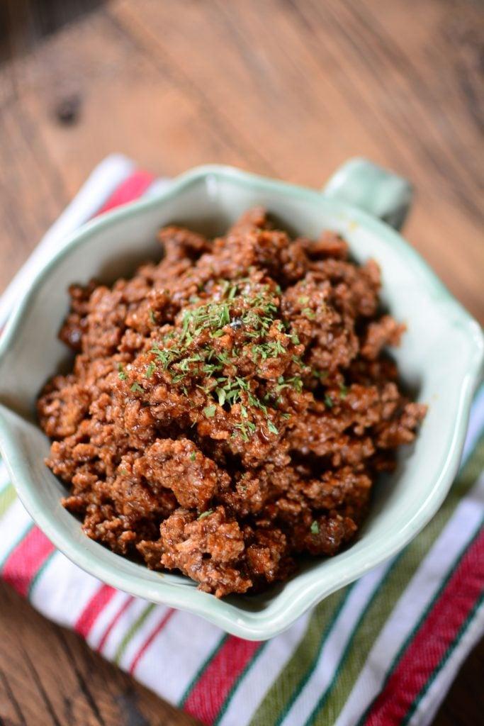 Instant Pot Taco Bell Copycat Beef Recipe The Salty Pot