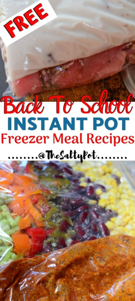 Instant Pot Freezer Meals - Pin Image