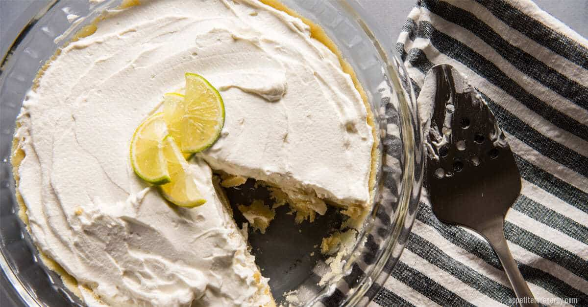 Quick Key Lime Pie Icebox Cake