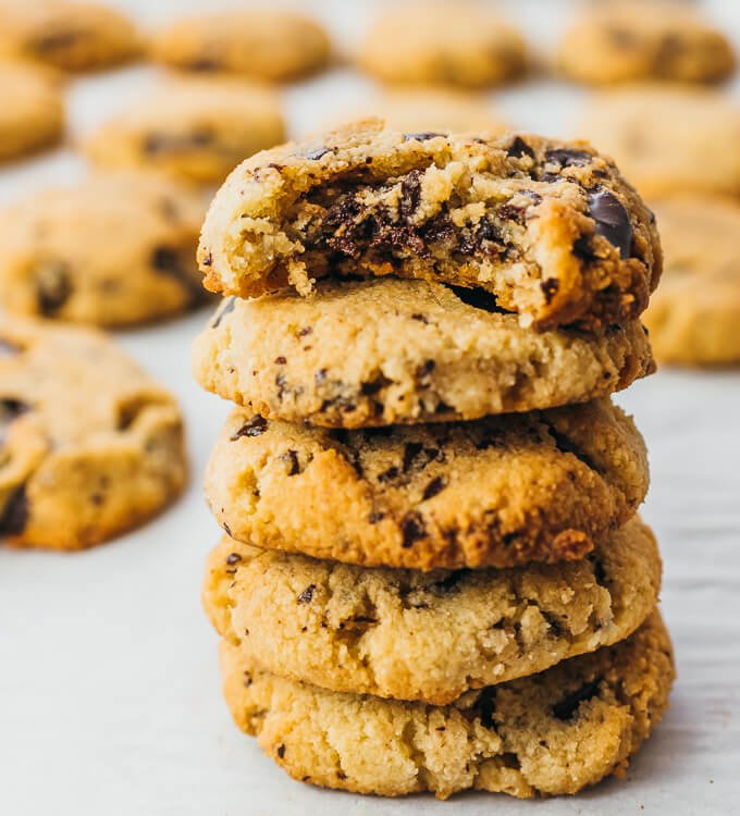 Keto Chocolate Chip Cookies (Low Carb Recipe)