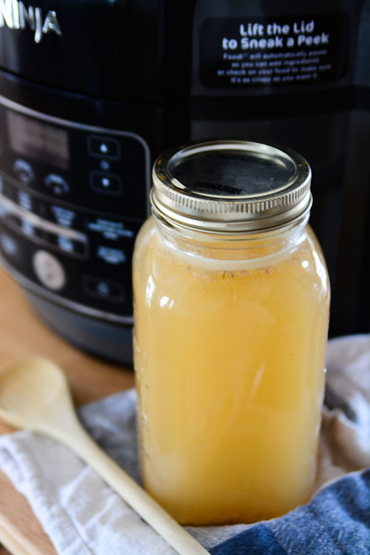 NINJA FOODI TURKEY BONE BROTH
