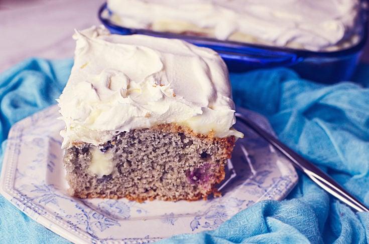 VERY BERRY POKE CAKE