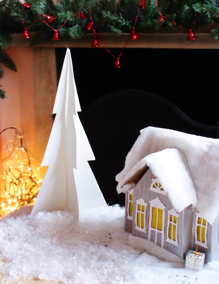 DIY Minimalist 3D Christmas Tree