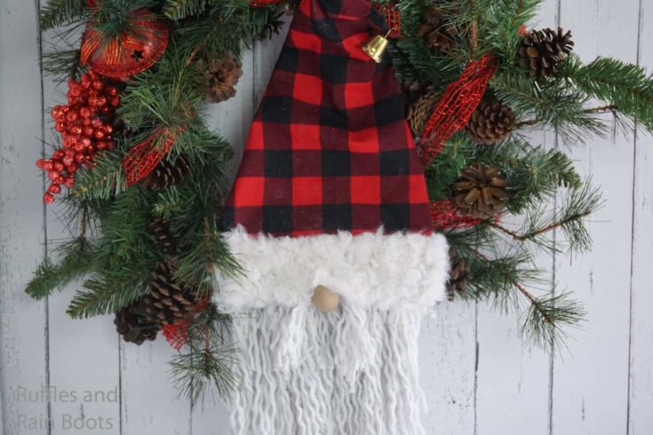 Make This Dollar Store Gnome Wreath in 20 Minutes!