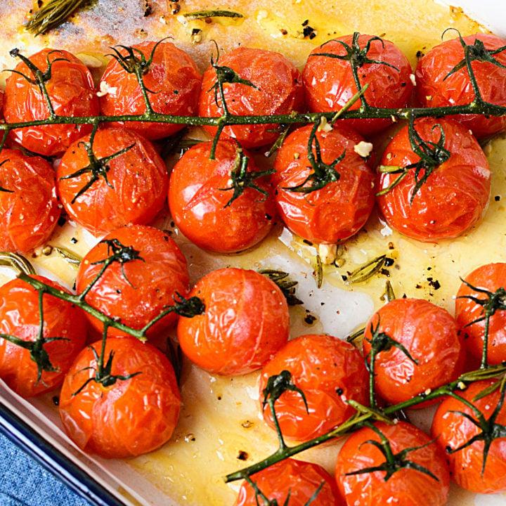 Mediterranean Roasted Vine Tomatoes