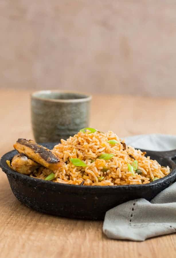 Quick Cinnamon Butter Fried Rice - African Recipe