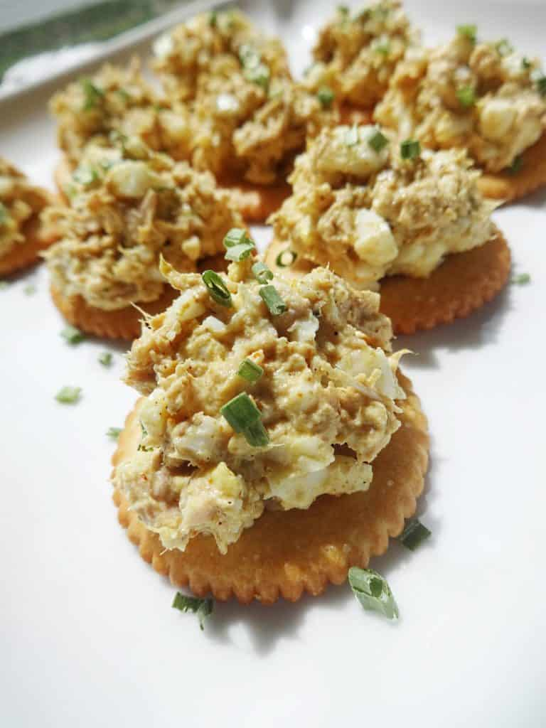 Curried Egg Salad Recipe (with Tuna)