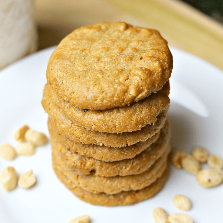 Easy Low-Carb Keto Peanut Butter Cookies Recipe [+VIDEO]