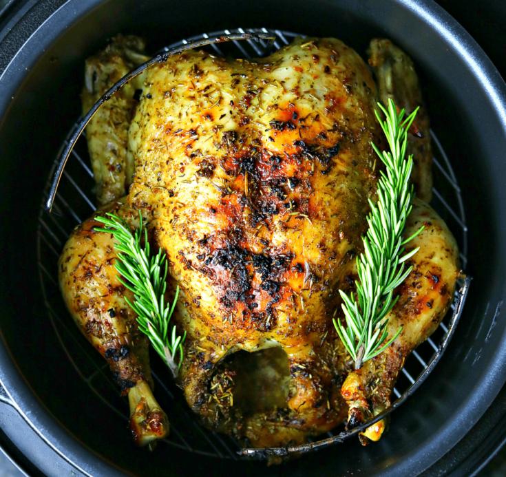Easy Pressure Cooker Whole Chicken Recipe [+VIDEO]