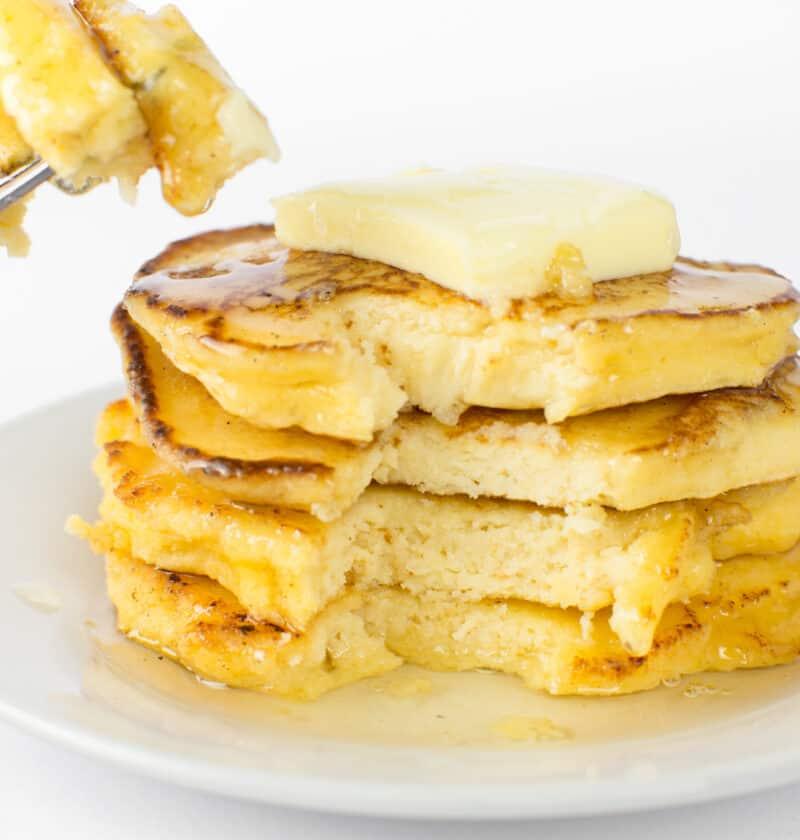 3 Ingredient Keto Coconut Flour Pancakes