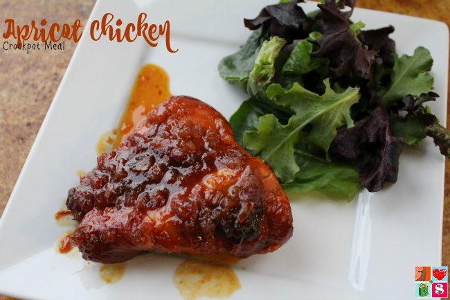 Apricot Chicken Recipe | Freezer to Slow Cooker Meal