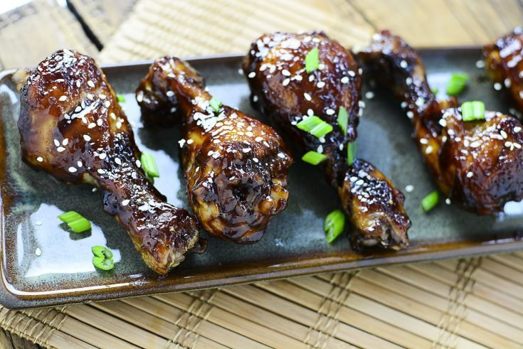 Instant Pot Sweet n' Sticky Chicken Drumsticks