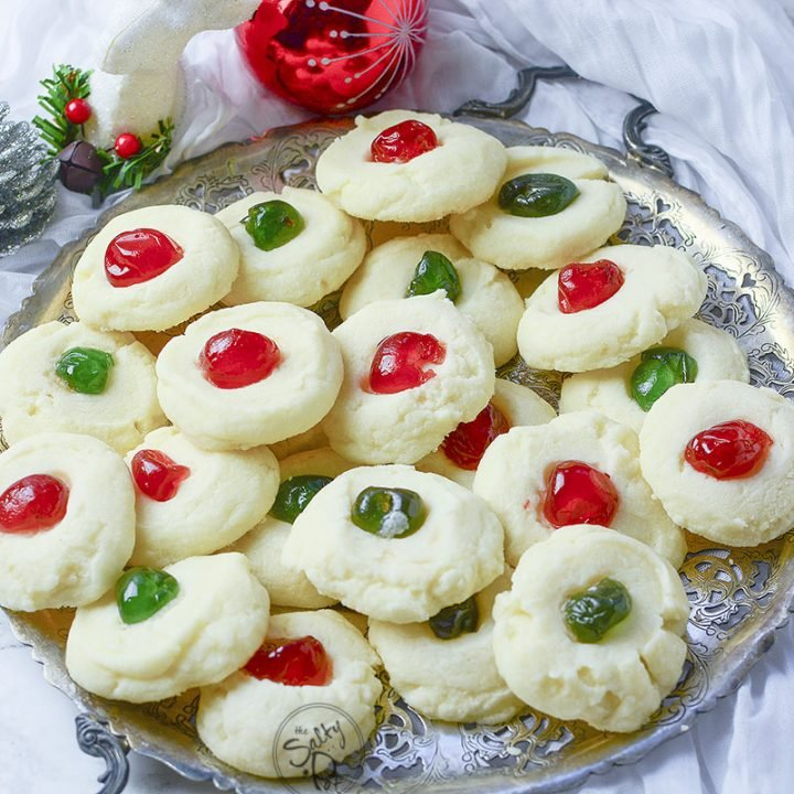 Easy Whipped Shortbread Cookies
