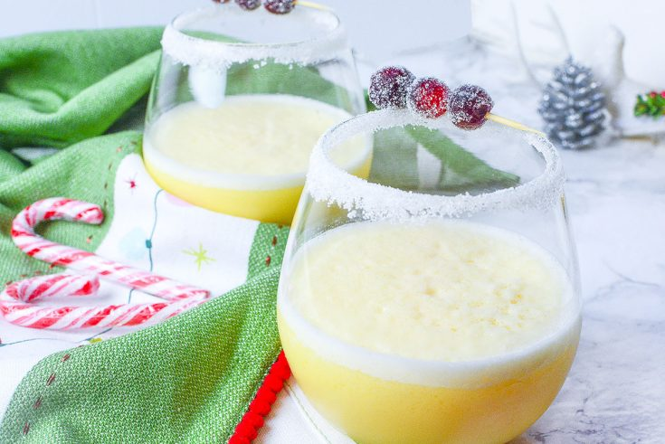 Advocaat Snowball Cocktail