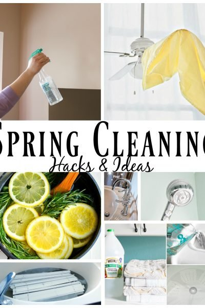 spring cleaning and decluttering tips, trick, hacks and ideas to make your life easier, lighter, and fresh as a daisy!