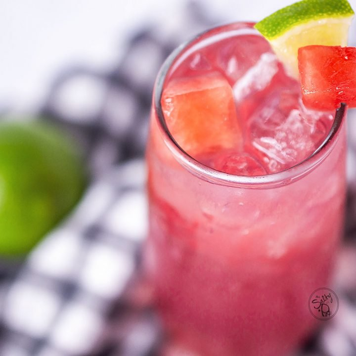 Cooling Watermelon Vodka Punch